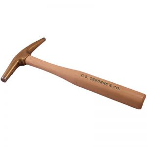 Bronze Headed Magnetic Upholstery Tack Hammer